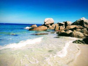 plage sable bretagne