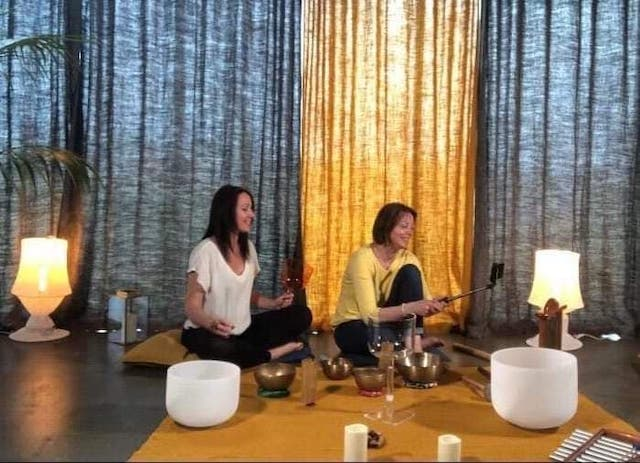 relaxation son instruments bols tibétain atelier soirée